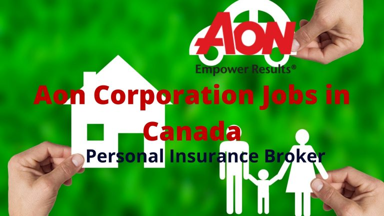 Aon Corporation Jobs in Canada: Personal Insurance Broker